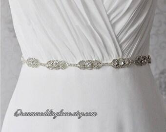 Bridal Sash belt ,Wedding Dress Sash Belt, pearl crystal sash,Rhinestone Sash, wedding dress belt, Bridal Bridesmaid Sash Belt