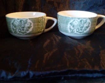 50s 2pc. Tea Cup Set