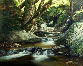Canvas Art | Landscape Wall Art | Oil painting | Original Painting | Wall Decor | Classic Art | Nature Painting | Hand Painted | Realism Art