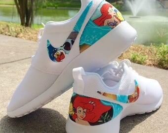 LIMITED The Little Mermaid Custom Nike Roshe