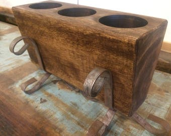 3 Hole Sugar Mold with Stands