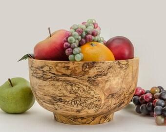 Spalted Oak Fruit Bowl #2748 Centerpiece Gift