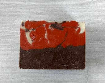 Natural Handmade Soap / Chocolate Strawberry Soap / Artisan Soap Canada / Chocolate Soap / Natural Soap by Wychbury Ave