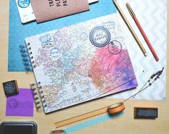 Travel Scrapbook   photo album for travelers