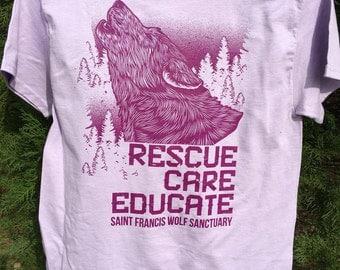 SFWS Official Tour Guide T-Shirt - Lavender
