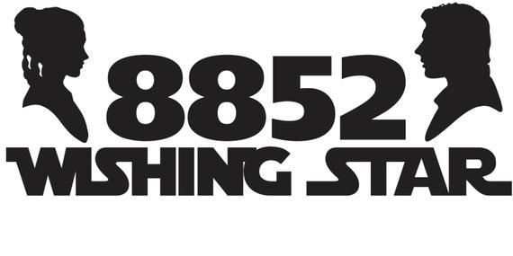 Star Wars Vinyl Mailbox Decal Custom Address Home Address