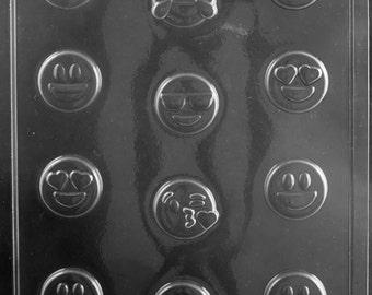 Bite Size Emojis Chocolate & Soap Mold - K171