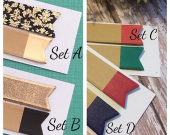 Gold Collection Sticky Notes / Page Flags