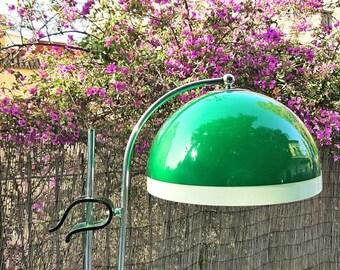 Lamp section Miguel Milá / Miguel Milá Tulip model green lamp