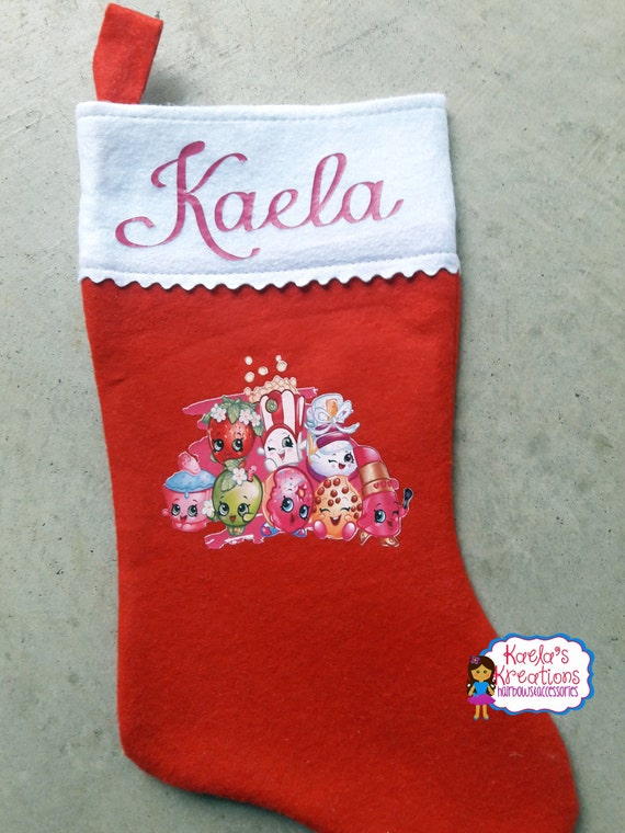 Shopkin Christmas Stocking