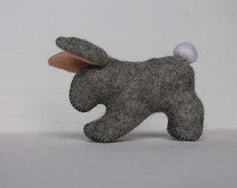 Waldorf Rabbit //Little Rabbit //Cottontail Rabbit //Easter Rabbit // Forest Animal //Stuffed Rabbit //Stuffed Animal //Bunny //