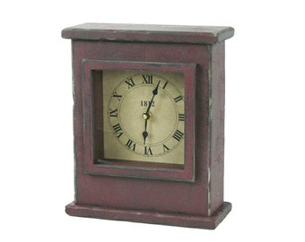 Primitive Mantel Clock