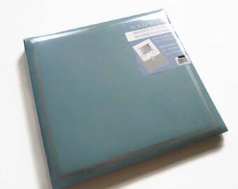 Light Blue Scrapbook Album - Baby Blue Scrapbook Album - Light Blue Photo Scrapbook - Baby Blue Photo Scrapbook Album - Baby Scrapbook