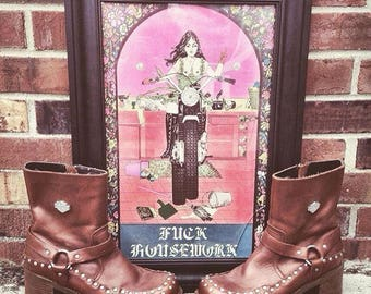 Studded Harley Davidson Motorcycle Boots