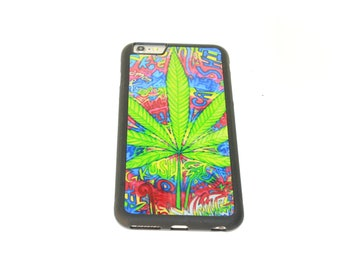 Kush Plant Print Iphone 6s Plus Case