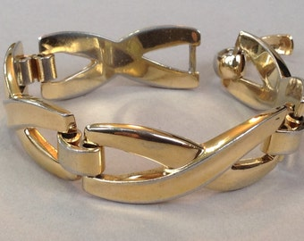 New Price* Grosse Gold Tone Link Bracelet