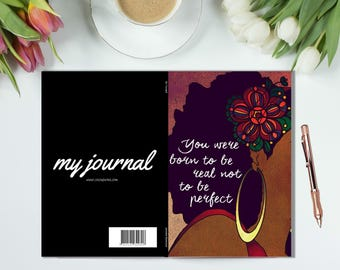 BE YOURSELF - Journal, Notebook, Perfect Bound Book, Diary, Planner