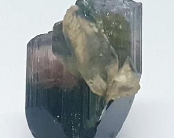 Green Tourmaline (Verdelite) Crystal