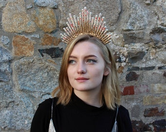Headdress Art Deco  (LOCAL COLLECTION ONLY)
