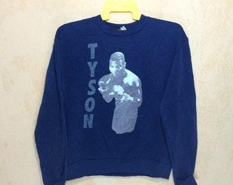 90s Vintage 1991 Mike Tyson Holyfield World Heavyweight Championship Majestic Sweatshirt