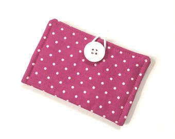 Business Card Holder - Cloth Credit Card Holder - Travel Wallet - Gift Card Holder - Gift Card Wallet - Credit Card Wallet