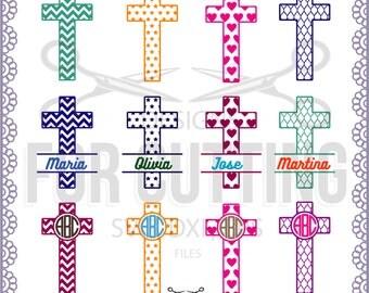 Baptism Cross Svg Etsy