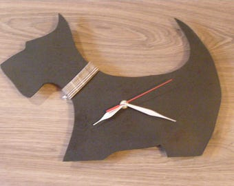 Scottish Terrier Dog - dog wall clock