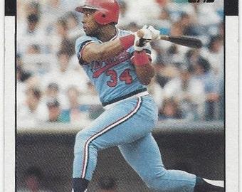 1986 Topps KIRBY PUCKETT Hall of Fame Minnesota TWINS original vintage baseball card number 329