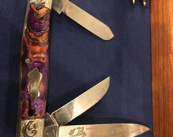 Engraved Solinger Guns and Roses