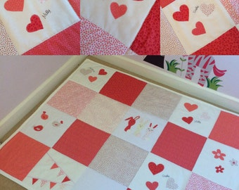Girl's Personalised Playmat - Design your own