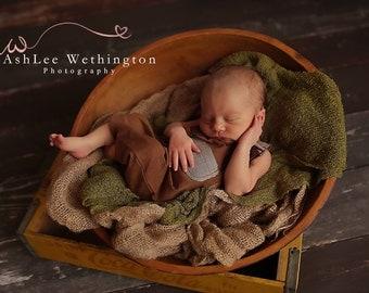 Cod131 New born Romper, Newborn boy Romper, Romper Prop, Newborn boy Outfit, Newborn Photo Prop, boy suspenders