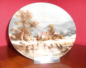 Collection plates, wall plates, decorative plate