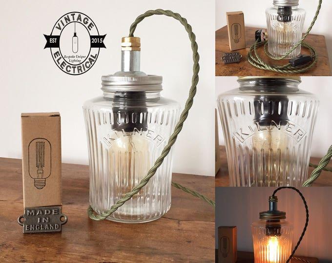 Kilner Jar Lighting Vintage Electrical Ltd