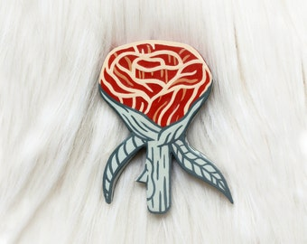 Rose Handmade Pin