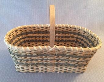 Handwoven Large Market Basket