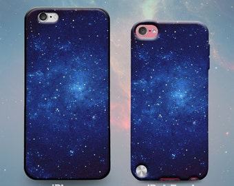 Starry Sky Space Night Stars Majestic Beautiful Outer Space Galaxy Universe Rubber Case for iPhone 7 6s 6 Plus iPhone SE 5s 5 5c iPod Touch