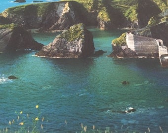 Vintage Ireland Dunquin Harbor Dingle Peninsula County Kerry Ireland Postcard - Irish Post Card - Vintage Travel Souvenir - Free Shipping