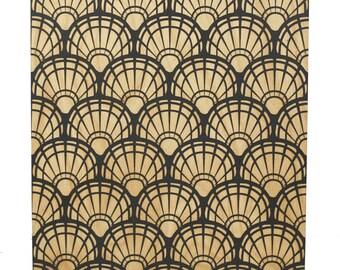 Scallop Shells Wall Art - 12x12 | Sea Shell Wall Art | Shell Art | Shell Decor | Laser Engraved | Nautical Decor | Beach Decor | Maine Made