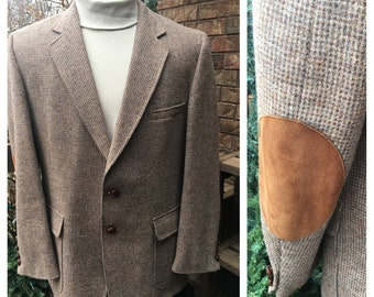 Vintage Men's Wool Jacket, Size 44R