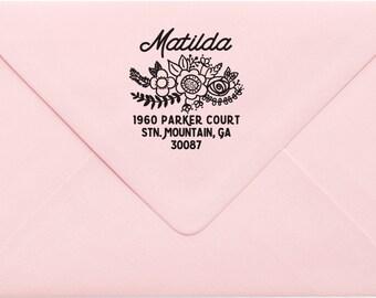 Custom Return Address Stamp, Wedding Address Stamp, Change of Address Stamp, Modern Address Stamp, Wedding Shower Gift, Teacher Gift 20MP