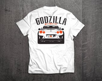 Nissan GTR Shirts, GTR Godzilla t shirts, Nissan shirts, Cars shirts, men t shirt, women t shirt, funny shirts, muscle car shirts, GTR