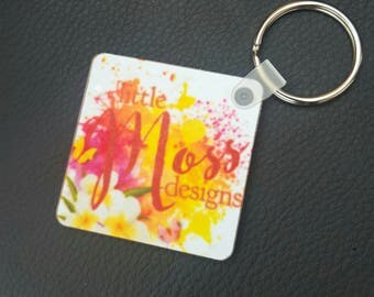 Photo Keyring, photo or logo, or even text!