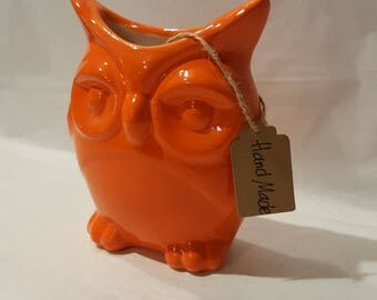 Humidifier for radiator OWL shaped ceramic color
