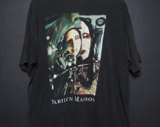 Marilyn Manson Beautiful People 1990s Tshirt