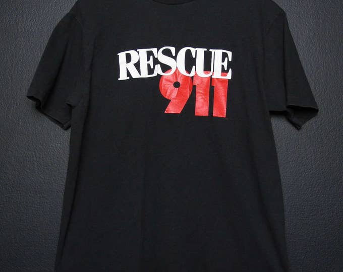 Rescue 911 1900's Vintage Tshirt