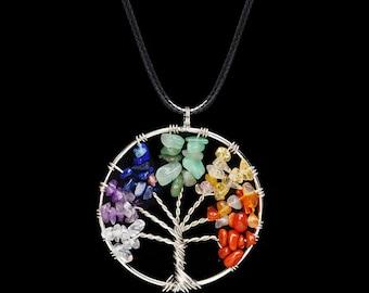 7 Chakra Tree Of Life