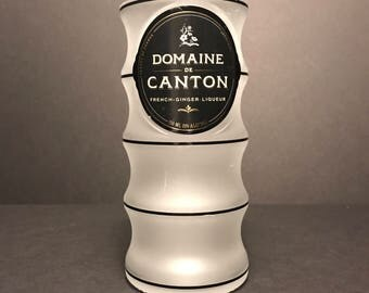 Recycled Domaine de Canton Bottle Candle