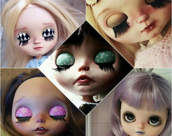 Make up personal Service on your doll. Doll ooak blythe/Icy. custom collection. Little Darling