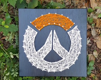 Overwatch String Art Made to Order Home Decor