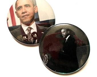 We Miss You Barack Obama button pack